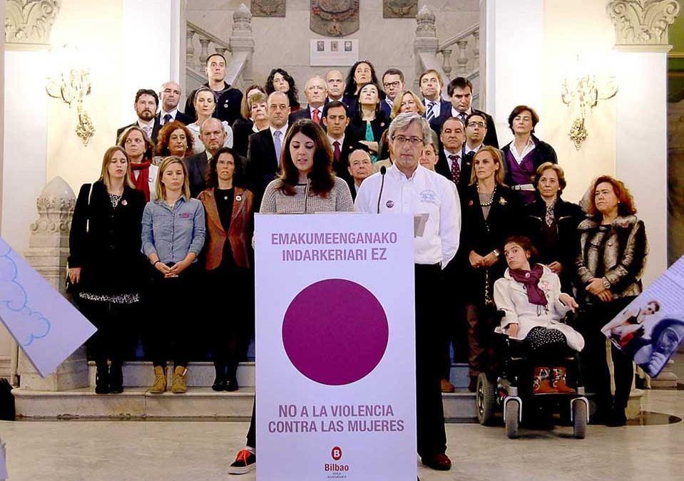 El Módulo participa en la Declaración en el Ayuntamiento de Bilbao contra la violencia sexista