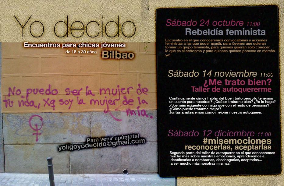 Encuentros para chicas jóvenes «Yo decido» otoño-2015