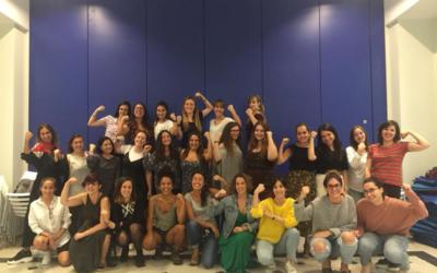 Encuentros mujeres jóvenes Yo decido junio-diciembre 2018