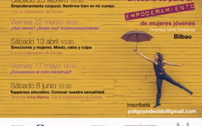Encuentros para el empoderamiento de mujeres jóvenes febrero-junio 2019