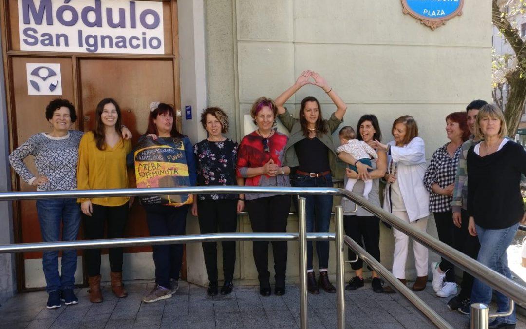 ¡El 8 de marzo las trabajadoras del Módulo Psicosocial de Deusto San Ignazio vamos a la huelga!
