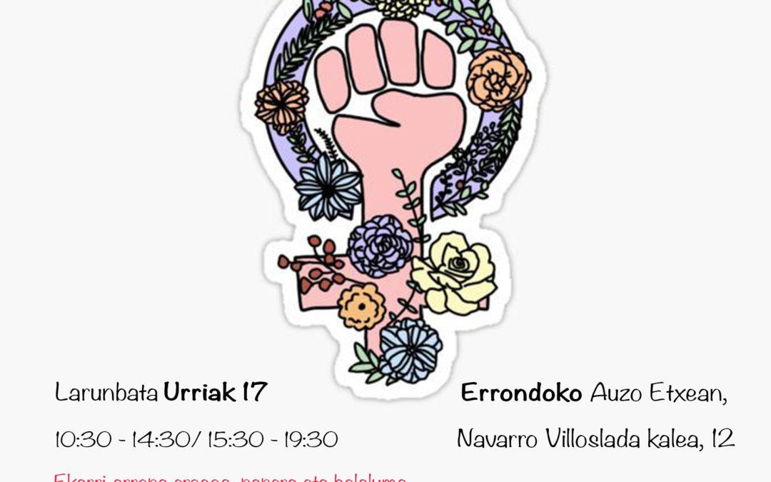Autodefentsa feminista Urriak 17 – ¡17 de octubre!