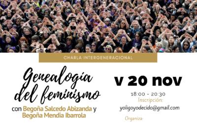 Charla intergeneracional «Genealogía del feminismo» 20-11-2020