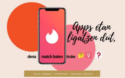 Apps  etan  ligatzen  dut,  Apirilak  2021